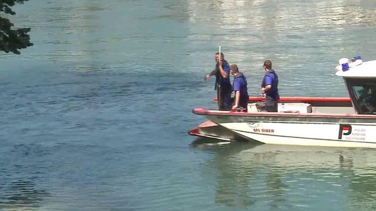 Ein Boot der Sondergruppe Schifffahrt der Kantonspolizei Solothurn fand die Frau. (Archiv).