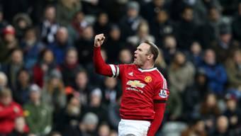 Wayne Rooney brachte ManU in Führung