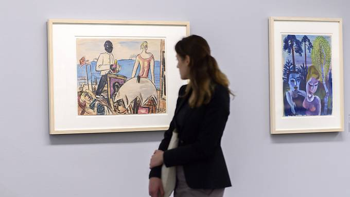 Rund hundert Werke aus der Kunstsammlung Gurlitt werden bis Ende Januar in Jerusalem ausgestellt. Im Kunstmuseum Bern wurden sie bereits gezeigt (Archivbild).