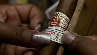 Nichts geht Kennern über kubanischen Tabak. (Archiv)