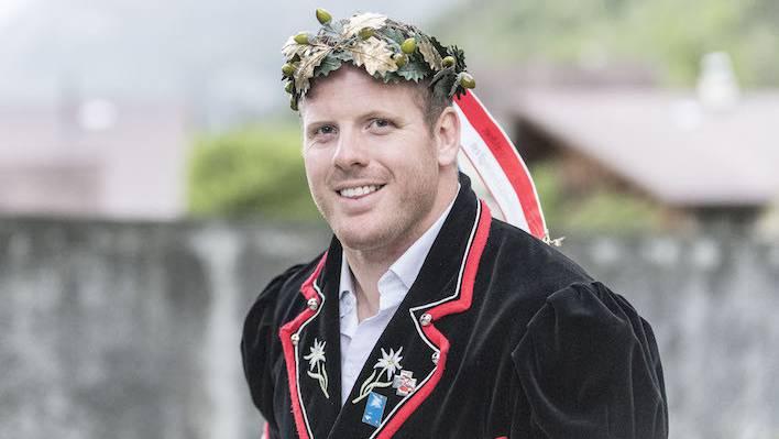 Matthias Glarner, der Schwingerkönig 2016 (Archivbild).
