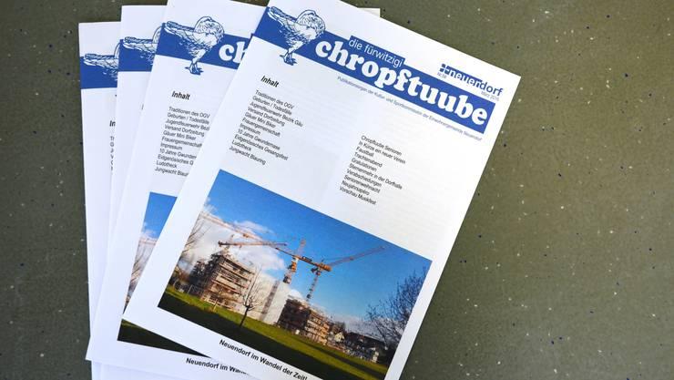 Die «Chropftuube» war die letzte Dorfzeitung.