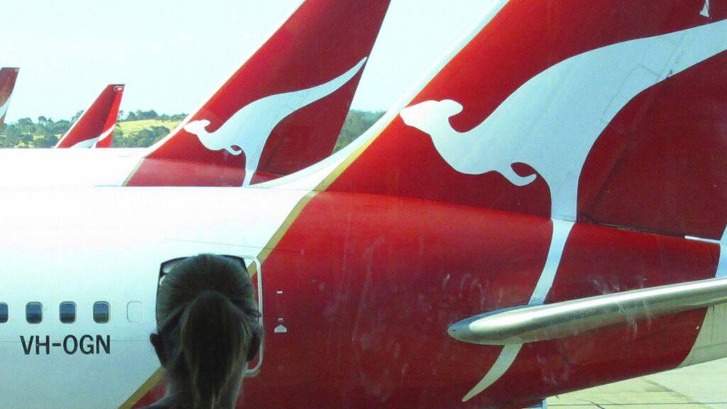 Australische Fluggesellschaft Qantas mit Milliardenverlust