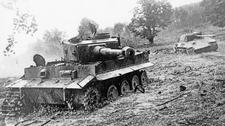 Der Panzerkampfwagen kam in den letzten Monaten des Zweiten Weltkrieges zum Einsatz.