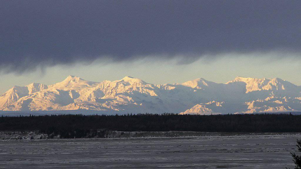 In Alaska gab es eine kleine Serie von Erdbeben. (Archivbild)