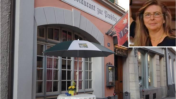 Klein und beliebt: Das Restaurant Probstei in der Laufenburger Altstadt. - Manuela Imhof aus Stein übernimmt sie.
