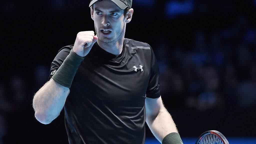 Andy Murray könnte noch länger die Weltnummer 1 sein
