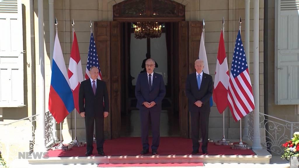 Die ganze Welt schaut zu: Joe Biden und Wladimir Putin treffen sich in Genf