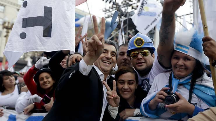 War der Unfall eine Sabotage im Wahlkampf? Argentiniens Transportminister Florencio Randazzo