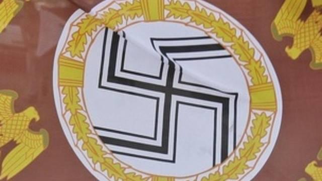 Ein Hakenkreuz (Symbolbild)