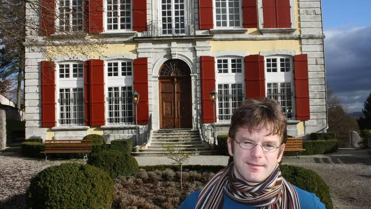 Konservator Erich Weber hat einiges in seinem Museum vor