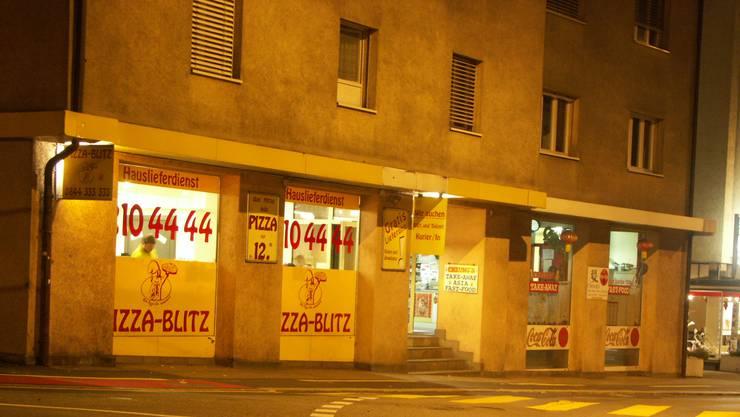 Der «Pizza-Blitz» wurde überfallen. (Archiv)