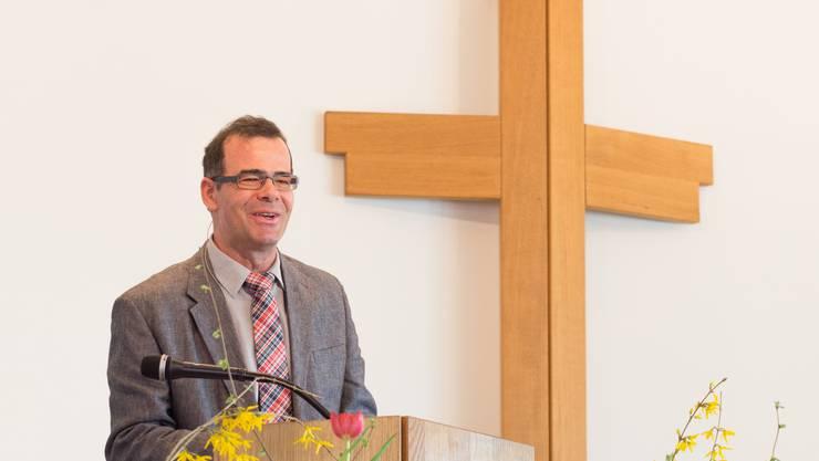 Pfarrer Klaus Aeschlimann