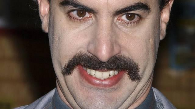 Der Schnauz kann bleiben: Nach Borat will Sacha Baron Cohen Saddam Hussein spielen (Archiv)