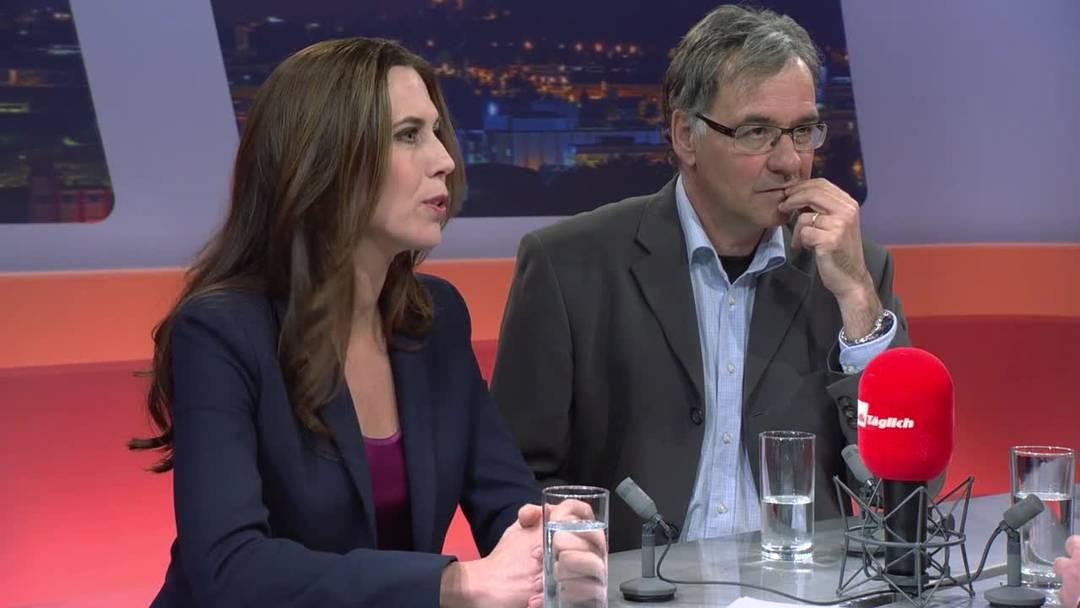 Start einer TV-Karriere: Susanne Wille moderiert auf Tele M1