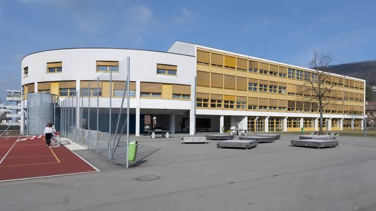 Die Schulanlage Zehntenhof in Wettingen
