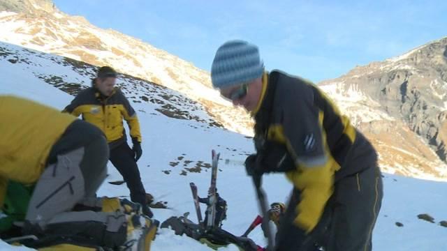 Auch Bergretter brauchen Sicherheit