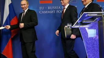 """""""Weitreichender Dialog"""" am Gipfel EU-Russland"""