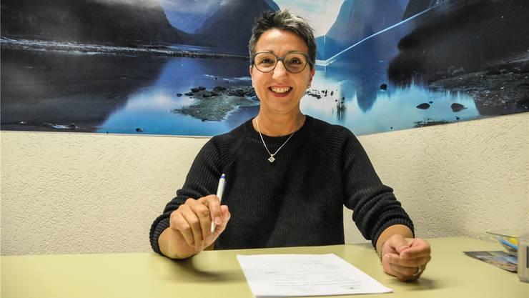 Giordana Erne, die Frau Gemeindeammann von Rottenschwil, ist gespannt auf die Ergebnisse der breit angelegten Umfrage.
