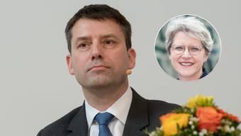 Amtsinhaber Gottfried Locher ging Direktvergleichen und Streitgesprächen mit seiner Herausforderin aus dem Weg.