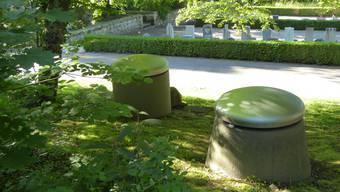 Von der Friedhofquelle sind heute nur noch die Schächte sichtbar. Die unterirdischen Fassungsstränge werden saniert.