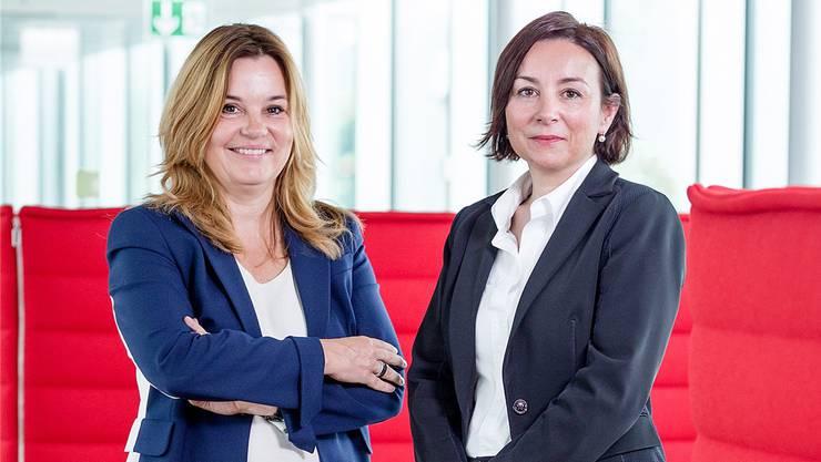 Führungsduo bei der SVA: Elisabeth Meyerhans (Präsidentin der Verwaltungskommission, links) und Nancy Wayland Bigler (Direktorin).