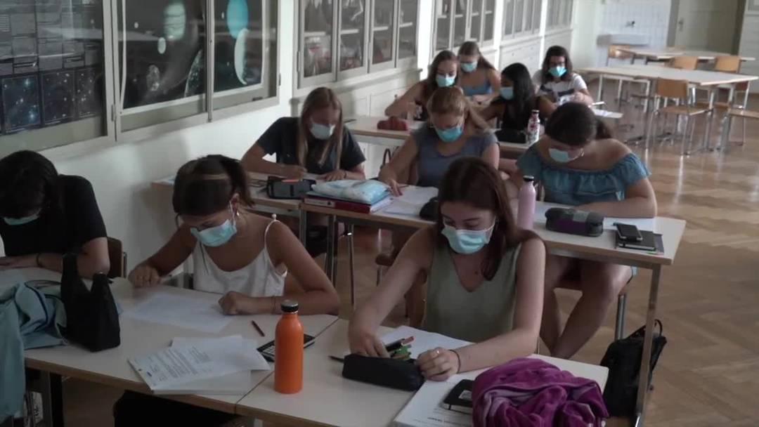 87'000 Masken zum Schulanfang am Gymnasium Kirchenfeld