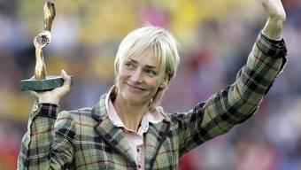 Heike Drechsler wurde zweimal Weitsprung-Olympiasiegerin