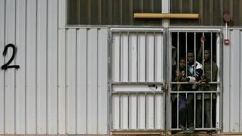 Das Gefängnis im libyschen Gherian (Archiv)