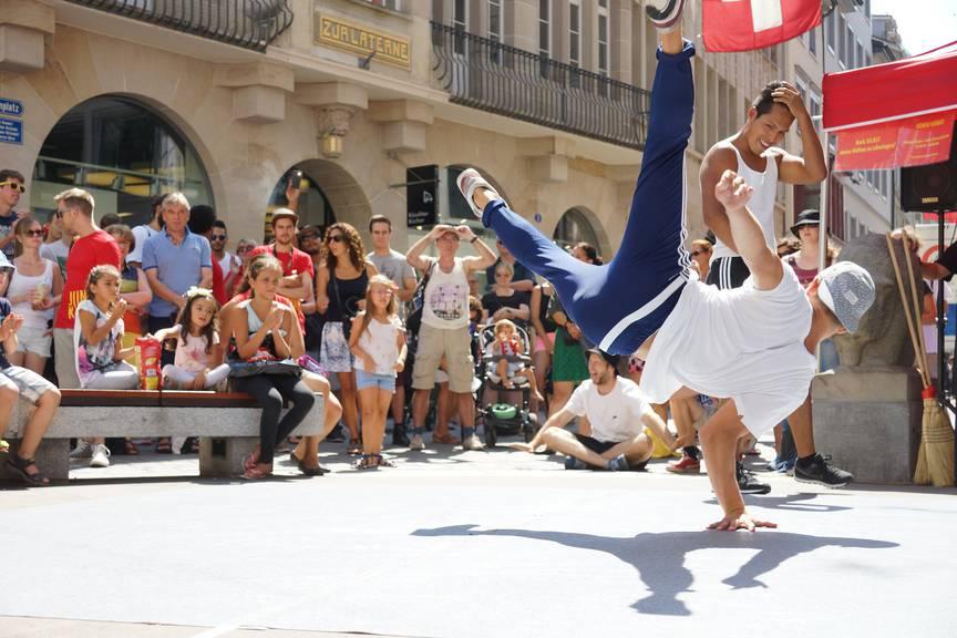 Auch Breakdancer werden am Jung Kult Festival zu bestaunen sein. (Bild: pd)
