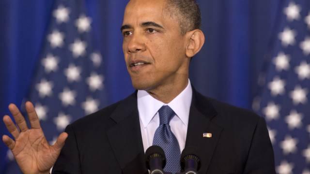 US-Präsident Obama in seiner Rede zur nationalen Sicherheit