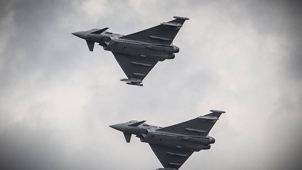 Das Golfemirat Katar will 24 Eurofighter anschaffen und hat eine entsprechende Erklärung unterschrieben. (Symbolbild)