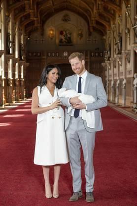 «Baby Sussex», wie der Junge bisher genannt wurde, war am vergangenen Montag zur Welt gekommen.