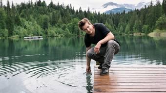 «Das ist einer meiner liebsten Orte in Graubünden»: Arno Camenisch über den Crestasee.