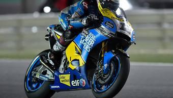 Liess im Qualifying in Argentinien vier Konkurrenten hinter sich: der Berner MotoGP-Rookie Tom Lüthi