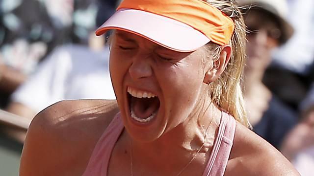 Zweiter Titel in Paris: Maria Scharapowa