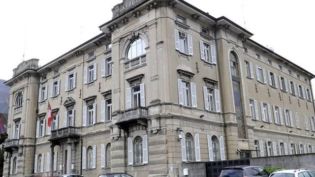 Blick aufs Bundesverwaltungsgericht in Bellinzona (Archiv)