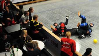 Die Kapriolen der verschiedenen Teams des «Ice Soccer Cup» sorgten für beste Unterhaltung.