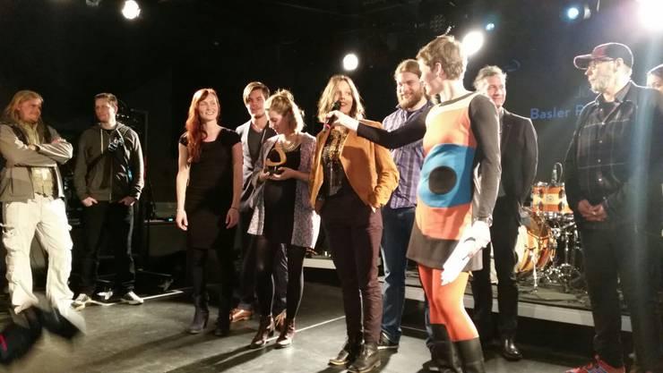Serafyn gewinnen den Basler Pop-Preis 2015