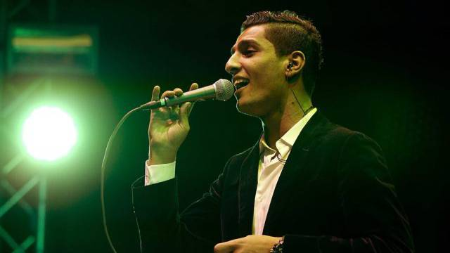 """Arab Idol"" Mohammed Assaf gestern in Den Haag"