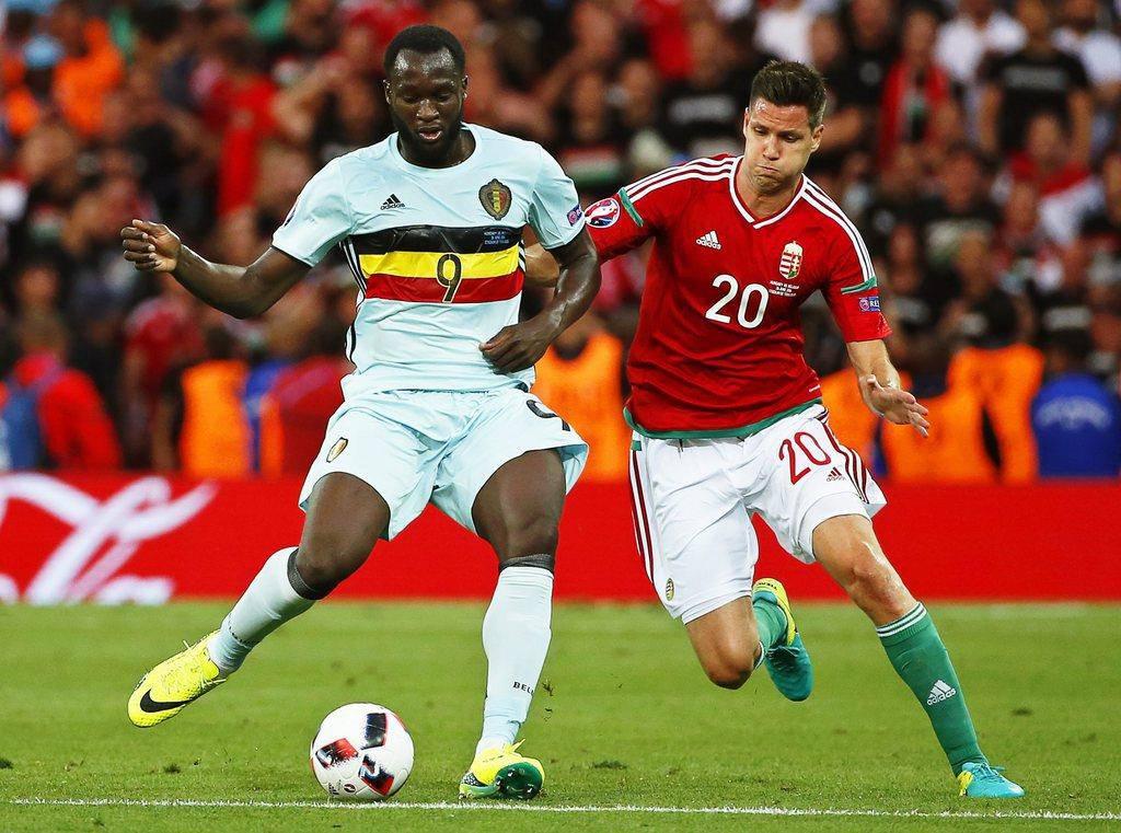 Ungarn gegen Belgien in Bildern (© Keystone)