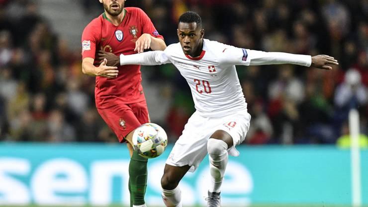 Edimilson Fernandes kommt heute gegen England von Beginn weg zum Einsatz