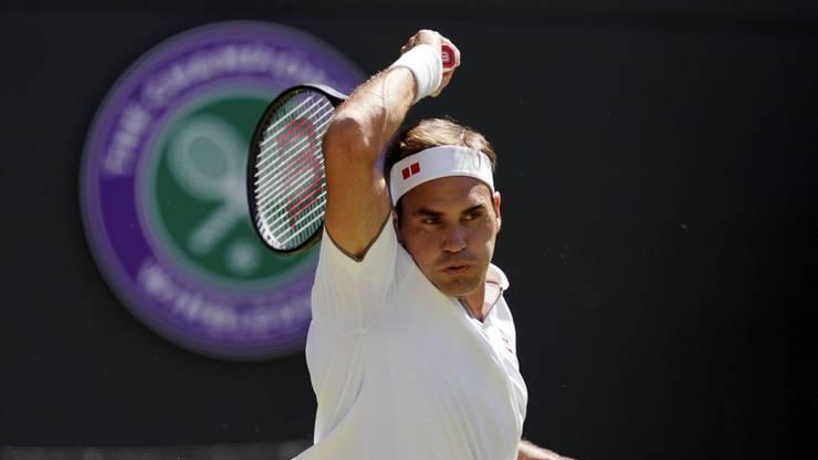 Übersteht Roger Federer auch die dritte Runde in Wimbledon?