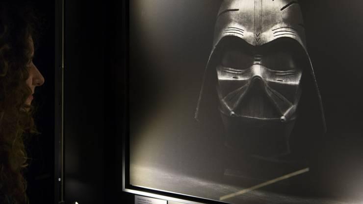 """Wenige Tage vor dem Kinostart des neuen """"Star Wars""""-Films eröffnet in Yverdon """"Je suis ton père"""", eine Ausstellung fernab des cineastischen Universums."""
