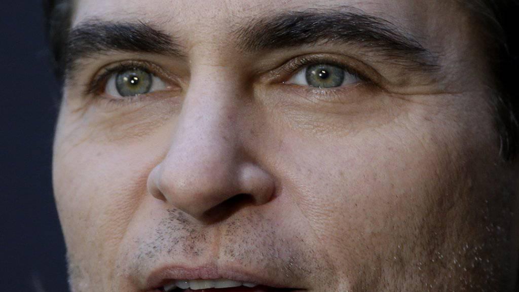Er wusste schon früh ganz genau was er will: Schauspieler Joaquin Phoenix hat sich mit drei Jahren entschieden, Veganer zu werden (Archiv).