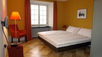 Die Hotelzimmer in Solothurn sind gefragt. Ein Grossteil der Logiernächte entfällt auf das Segment des Geschäftstourismus. (Archiv)