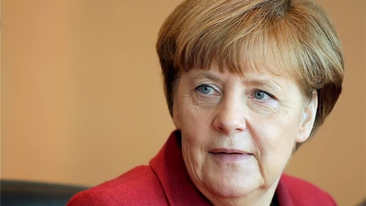 Die Erwartungen an die deutsche Bundeskanzlerin Angela Merkel sind hoch:Sie soll in Europa für Sicherheit und Stabilität sorgen.MICHAEL SOHN/Keystone