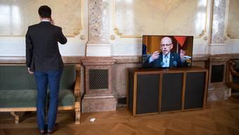 Bei Finanzplatzlobbyisten wohlgelitten: Ueli Maurer, Bundesrat.Anthony Anex/Keystone