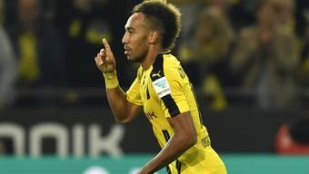 Dortmunds Pierre-Emerick Aubameyang.