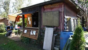 Rund 40 Gartenhäuschen wurden von Vandalen heimgesucht (Symbolbild)